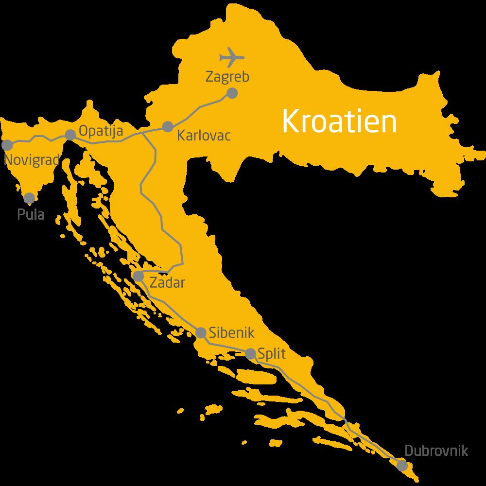 Kroatien 15 Tage Land Der 1 000 Inseln